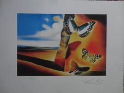 Salvador Dali: Pillangók a tájban