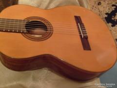 Raimundo stúdió koncert gitár+tokkal Bécsi aranyozott jelzés kézműves klasszikus akusztikus