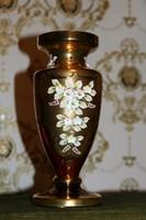 Antik Cseh Bohemia váza