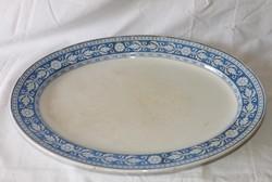 Antik Angol F.Waldsteiner Pest. sültes   ovális tál, tányér