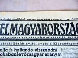 1946 május 4  /  Délmagyarország  /  RÉGI EREDETI ÚJSÁG Ssz.: 66