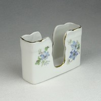 0R373 Régi Meisseni porcelán cigaretta tartó