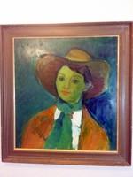 Thea Steiner-Kaltman (1925-2016): Arca az árnyékban