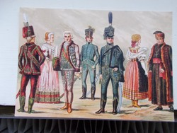 Magyar viseletek-1790-1810