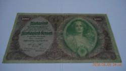 1922 / 5000 Korona