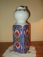 Régi GDR Lichte Porcelán Váza