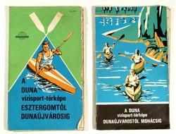Duna , vizisport ,térkép