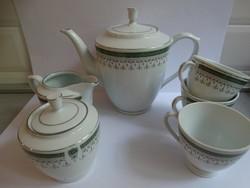 Porcelán teáskészlet elemek pótlásra