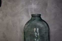 8 literes kék lencsés mintájú befőttes üveg