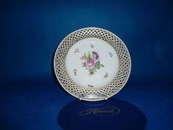 Herendi Bouquet de Saxe  26 cm fali tál