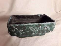 Mihály Béla kerámia ikebana tartó