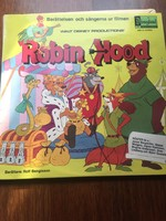 Walt Disney : Robin Hood bakelit svéd kiadás 1974