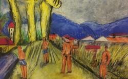 Magyar Nemzeti galériában kiállitott pasztel David Jandi ++++