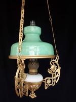 Lüszterlámpa, petróleum lámpa