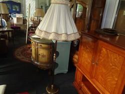 Réz állólámpa antik