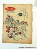 1961 február 8  /  PAJTÁS  /  SZÜLETÉSNAPRA RÉGI EREDETI ÚJSÁG Szs.:  6266
