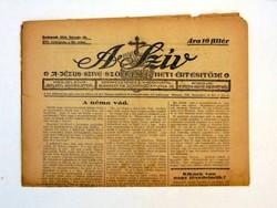 1946 március 9 Hetilap  /  A SZÍV  /  RÉGI EREDETI ÚJSÁG Szs.:  6408