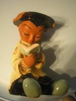 N9 Art decó Jelzett Chinai szobor lámpa 600-12000 euróig foghatók a munkái