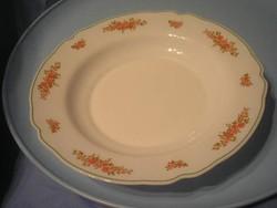 N8 rózsás opál nagy pogácsás süteményes tál 29 cm