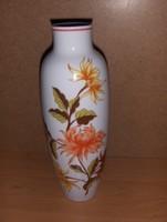 Hollóházi porcelán váza futás emlékverseny 1986 felirattal mag. 20 cm (fp)
