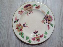 Zsolnay antik süteményes kis tányér 17,5cm