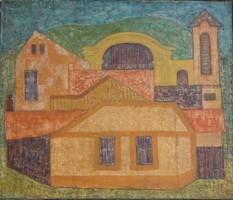 Fieber Béla (1926-2008): Tokaji házak