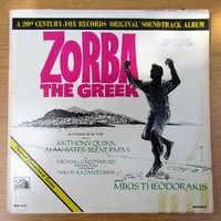 Mikis Theodorakis ‎– Zorba The Greek (Original Soundtrack) 1965 TFM-3167 Canada