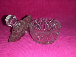 Antik üveg cukortartó (5/d)