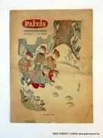 1962 január 24  /  PAJTÁS  /  SZÜLETÉSNAPRA RÉGI EREDETI ÚJSÁG Szs.:  6268