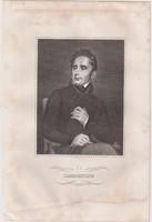 Acélmetszet: Lamartine  (1800-as évek)