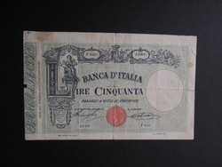 Olaszország - 50 lire 1896