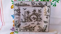 Kínai porcelán hamutartó