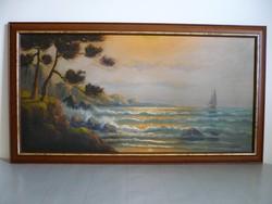 Armand Frans Karel Maclot belga festő egyik tájképe