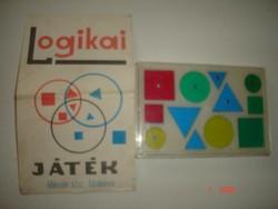Retro logikai játék-Mikrolin ktsz.-Tatabánya