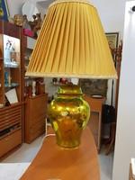 Zsolnay eozin élyeli lámpa