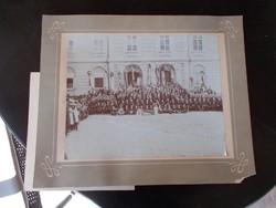 Katholikus rendezvény, 1918.Pécs,foto