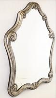 Antik ezüst tükör 1849 A 13 lat