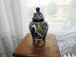Mexico -i Amora - kézzel festett urna váza - urnaváza
