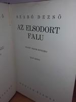 Antik könyv   Szabó Dezső: Az elsodort falu I-III. - RITKA !!