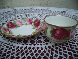 Royal Albert Old english rose  ritka kis kínáló + kistányér gyűjteménybe