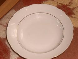 Cseh jelzett mély tányér