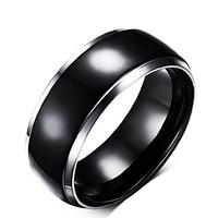 Fekete tungsten gyűrű