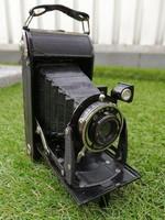 Antik Voigtlander fényképezőgép