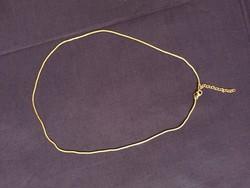 Ezüst, 50 cm, állítható, jelzett kígyó nyaklánc (NB)