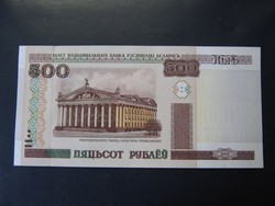 FEHÉROROSZ (BELORUSZ ) 500 RUBEL 2000 UNC  /9/