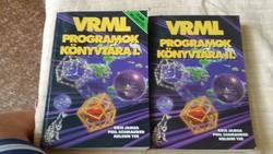 VRML Programok könyvtára I-II eladó!