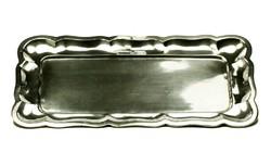 Ezüst tálca 1937-1965 közötti fémjelzett