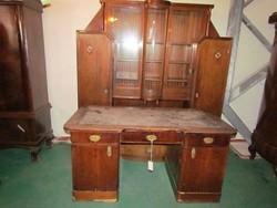 Art-deco iradobútor, könyvesszekrény+ íróasztal