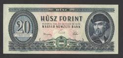 20 forint 1962.  UNC!!  RITKA!!