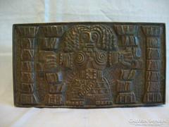 Zsűrizett fémműves iperművész bronz doboz